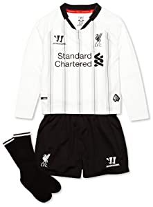 Warrior Kids LFC Liverpool 2013 2014 Home Goalkeepers Infant Replica Set - Anthracite/White, 2-3 Years