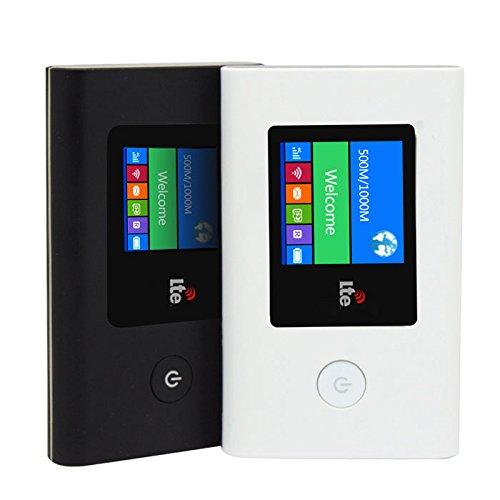 海外 対応 SIM フリー 日本語 メニュー 可能 4G LTE 格安 モバイルルーター ◇4GWIFI 技適マークなし (ブラック)