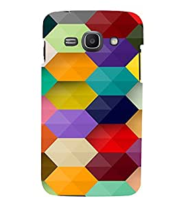 PrintVisa Prisma Colorful Pattern 3D Hard Polycarbonate Designer Back Case Cover for Samsung Galaxy Ace 3