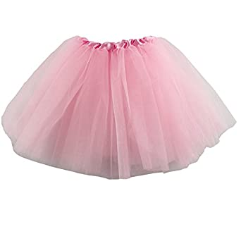 Wennikids Girls Baby Toddler Ballet Tutu Skirt Pettiskirt Pink