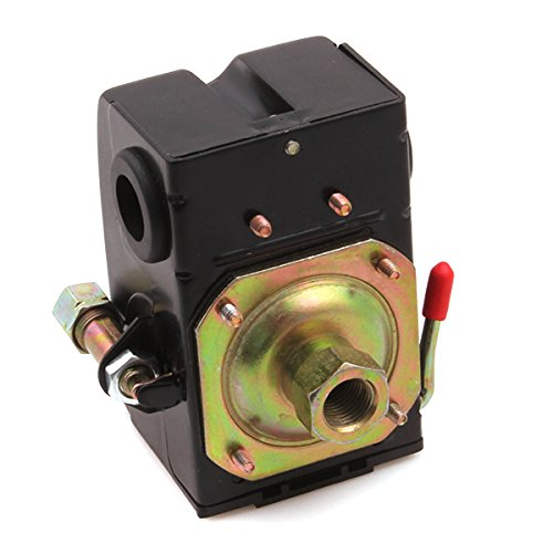 Generic New 240V 1 Port Air Compressor Pressure Control Switch 95-125 PSI On/Off Lever