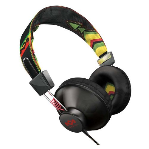 House of Marley Positive Vibration Rasta MRL-EM-JH013-RAの写真01。おしゃれなヘッドホンをおすすめ-HEADMAN(ヘッドマン)-