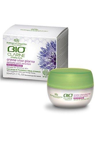 Bottega Di Lungavita Bioclarine Face Day Cream Delicate For Sensitive Skin, 50ml