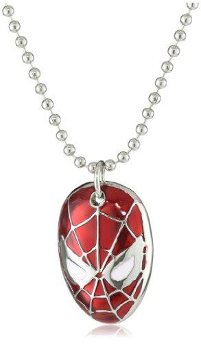 Marvel Comics Spider-Man Face Men's Necklace