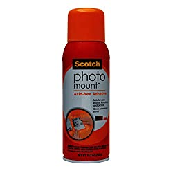 3M Photo Mount Spray Adhesive