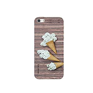 iSweven IP5s_1306 Printed high Quality Three_Bunch_of_Flowers Design Back case cover for Apple iPhone 5s