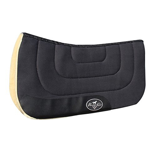 Professionals Choice Contour Work Pad Black (Professional Choice Saddle Pad compare prices)