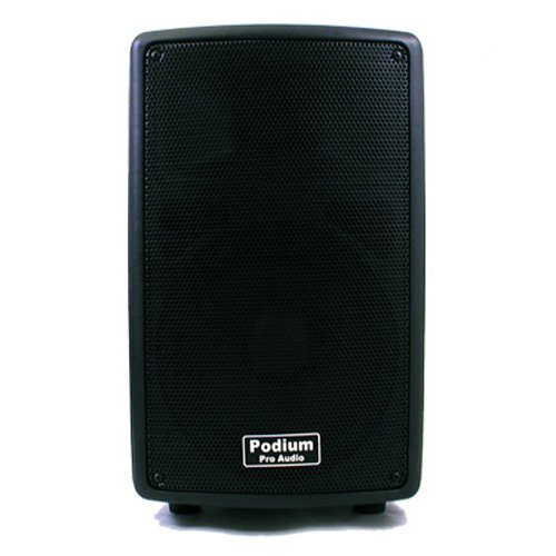 Podium Pro Pp802A1 Karaoke Pa Dj Band 8-Inch Pro Audio Powered Active 400 Watt Speaker
