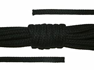 Baumwollseil - 5m - 8mm, Schwarz