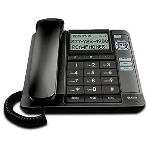 RCA 1113-1BKGA 1-Handset Landline Telephone
