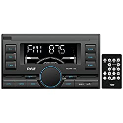 See Pyle PLRRR18U Digital Receiver with USB/SD Memory Card Readers, AM/FM Radio, AUX Input, Remote Control, Double-DIN Details