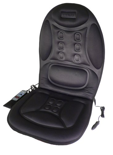 Wagan IN9988 Black 12V Ergo Comfort Rest Massage