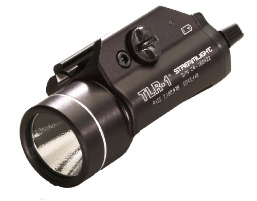 Streamlight 69110 Tlr-1 C4 Led Rail Mounted Weapon Flashlight, Black