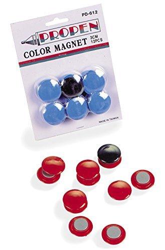 Schiavi Sport - ART 1082, Pedine Magnetiche Rosso