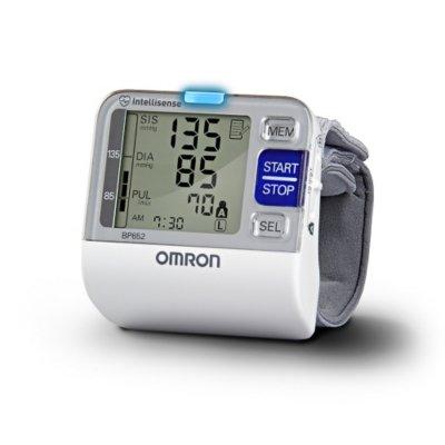 Cheap Omron BP652 New IntelliSense, 7 Series Wrist Blood Pressure Monitor, Heart Guide Technology, 2 Users (BP652)