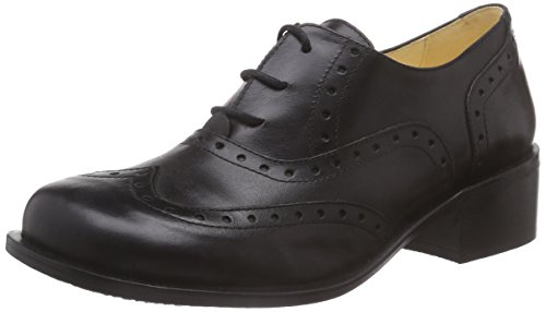 John W. ShoesTala - Scarpe Oxford Donna , Nero (Nero (Negro)), 38