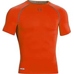 2015 Under Armour Sonic HeatGear Compression Base Layer Short Sleeve Shirt Volcano XXXL