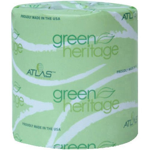 Green Heritage Toilet Tissue, Individually Wrapped, 2-Ply, 400/Roll front-393712