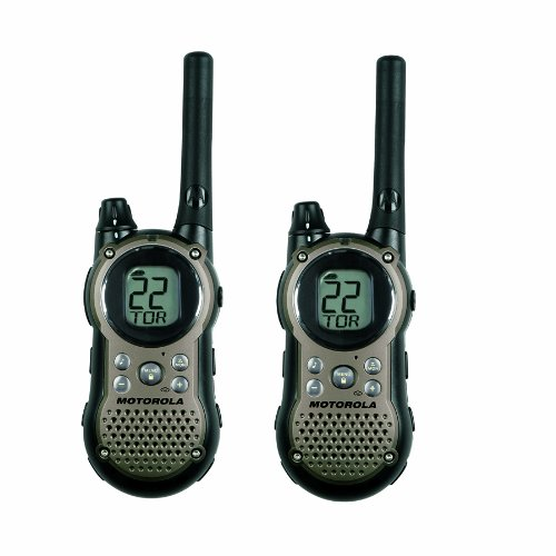 Motorola T9680RSAME TalkAbout 28-Mile 22-Channel FRS/GMRS Two-Way Radio (Pair)