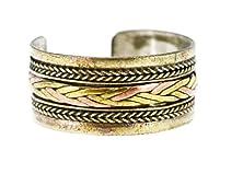 buy Tibetan Three Metal Filigreed Healing Ring