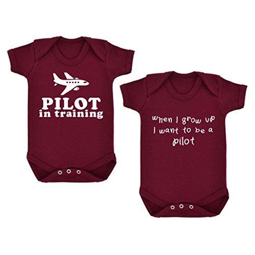 2-pack-pilota-in-training-when-i-grow-up-body-per-neonato-con-stampa-colore-bianco-bordeaux-6-mesi