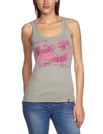 edc by ESPRIT 063CC1K003 Printed Women's T-Shirt Wild Dove X-Small