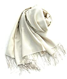 Pashmina Cashmere silk Scarf for Women or Men in Premium Grade 80/20 12x60\