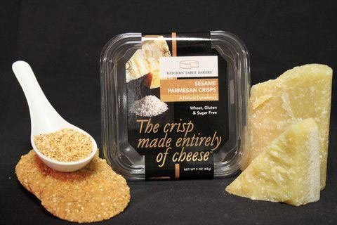 Gourmet All Aged Parmesan Cheese Crisps By Kitchen Table Bakers 3 Oz Dealtrend
