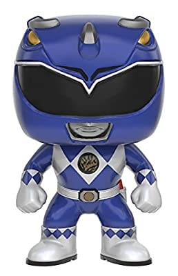 Funko POP TV: Power Rangers - Blue Ranger Action Figure by Funko