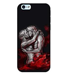 printtech Crazy Couple Back Case Cover for Apple iPhone 6 Plus