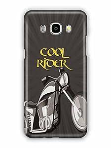 YuBingo Cool Rider Designer Mobile Case Back Cover for Samsung Galaxy J5 2016