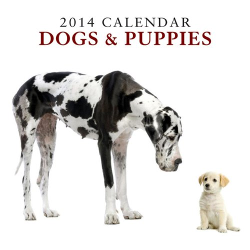 2014 Calendar: Dogs & Puppies: 12-Month Calendar Featuring Delightful Photographs of Dogs and Puppies