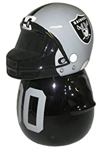 NFL Oakland Raiders Jersey Cookie Jar by Forever Collectibles