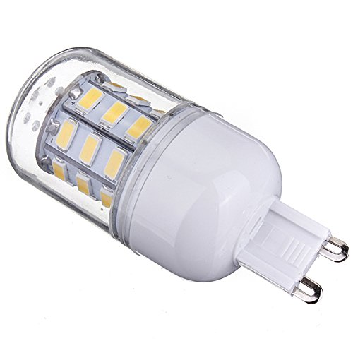 Kingso New 3.5W Corn Led G9 Lights 110V Frosted Cover 5730 30 Smd Bulb Warm White
