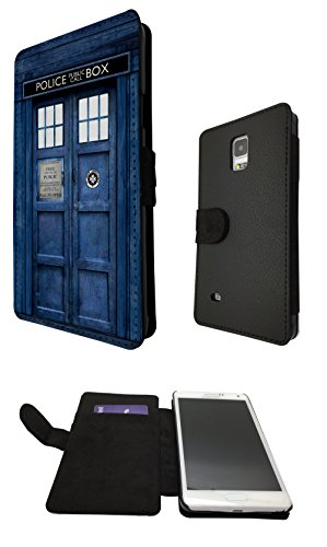 Samsung GALAXY S5 Mini Doctor Who Tardis Police Call Box Designer Fashion Trend Full Case Book Style Flip cover Defender Credit Card Holder Pouch Case Cover iPhone Wallet Purse (Doctor Who Samsung S5 Mini Case compare prices)