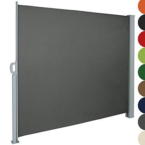 Jago Seitenmarkise zum Schutz, 160 x 300 cm, grau