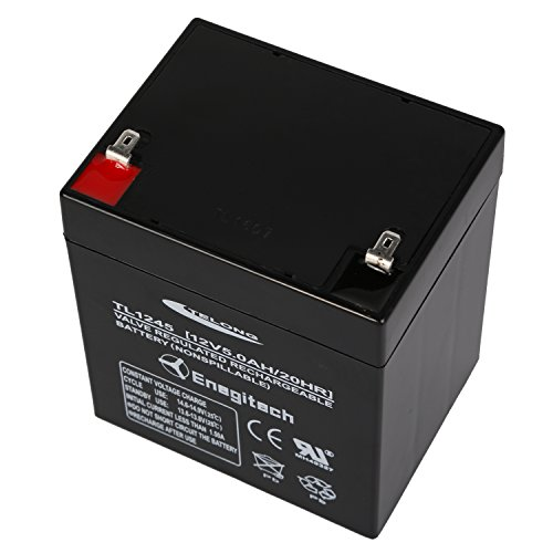 Powermall 12v 5ah Sealed Lead Acid Battery Rechargeable