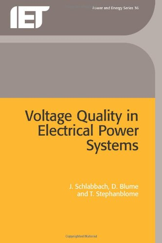 Voltage Quality in Electrical Power Systems