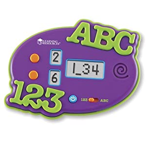 ABC and 123 Electronic Flash Card