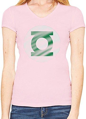 Green Lantern T-Shirt V collo Donne XX-Large