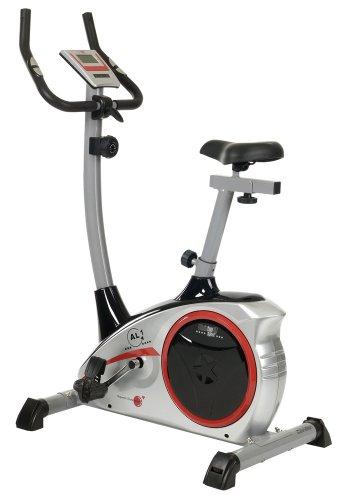 Christopeit AL 1 Exercise Bike - 96 x 59 x 134 cm, Silver