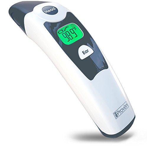 Medical Forehead and Ear Thermometer - the Authentic FDA Approved Professional Thermometer iProven DMT-116A - Unmatched Performance with Revolutionized Technology - 1