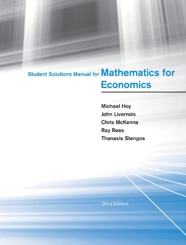 mathematics for economics hoy 3rd edition pdf