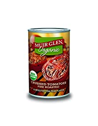 Muir Glen Organic Crushed Tomatoes, Fire Roasted, 14.5-Ounce Cans (Pack of 12)