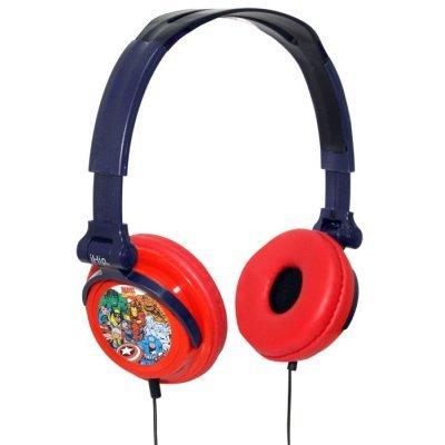 Ihip Mvf2400Rt Marvel Retro Headphones Folding Retro Printed