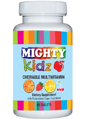 Mightykidz Chewable Children'S Multivitamins With Phytonutrients - 60 Tablets