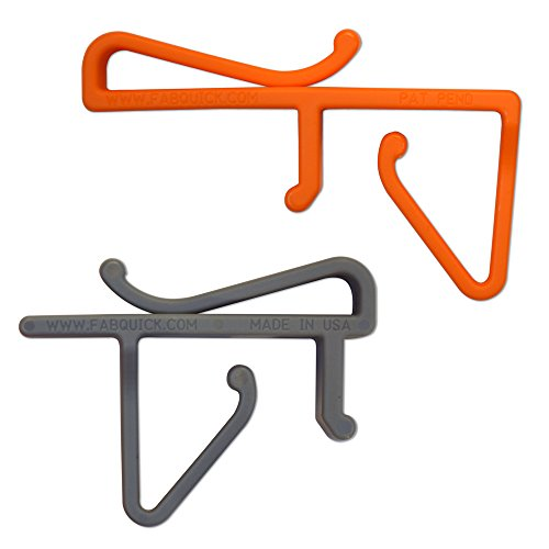Fabquick Templatepro Templating Kit Clips, 1 Bag front-404237