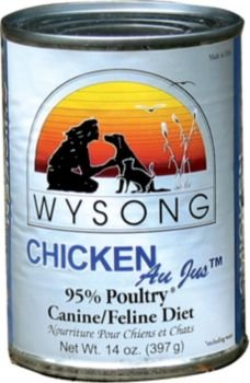 Image of Wysong Au Jus Chicken Canned Pet Food, 12 by 14-Ounce Can