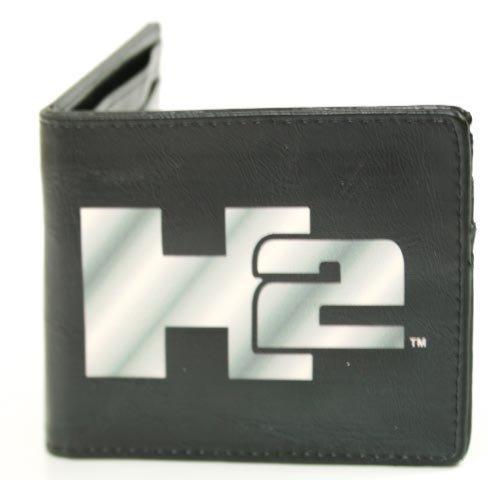 h2-hummer-humvee-auto-car-black-silver-logo-centered-design-bi-fold-wallet-by-hummer-na