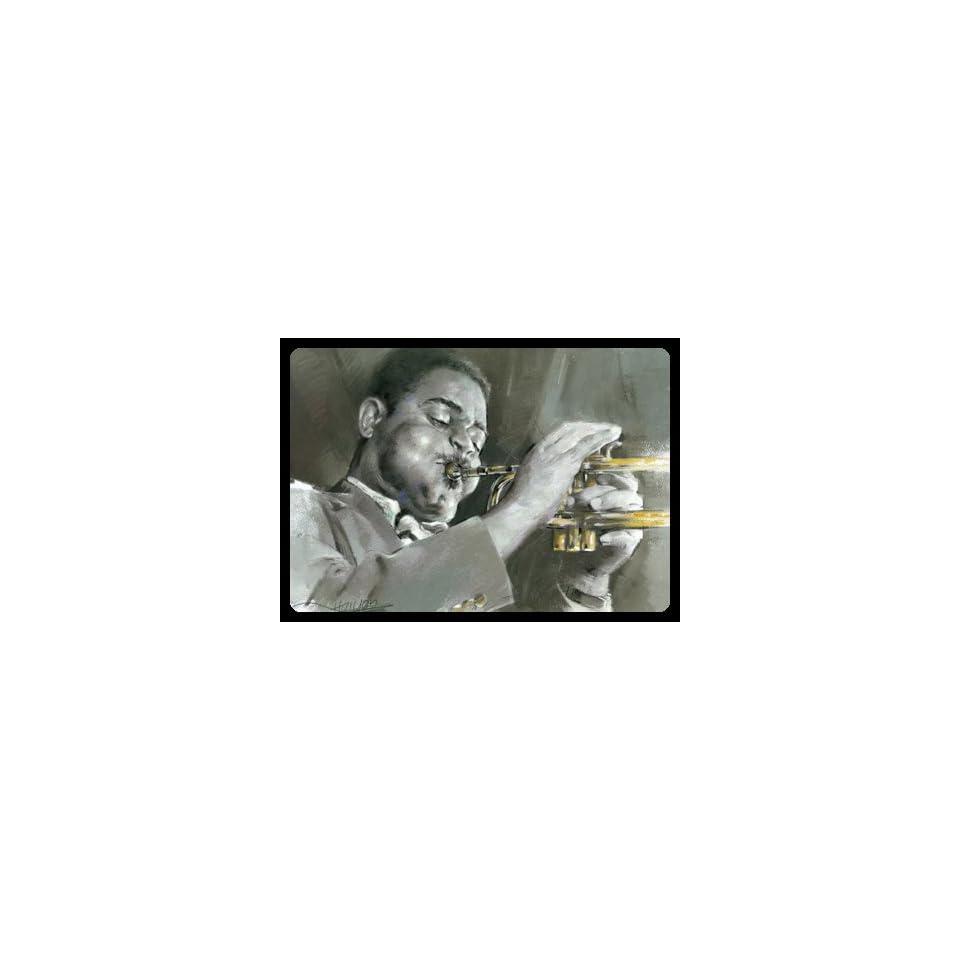 DIZZY GILLESPIE #372 BIG BAND MUSIC PRINTS LITHOGRAPHS
